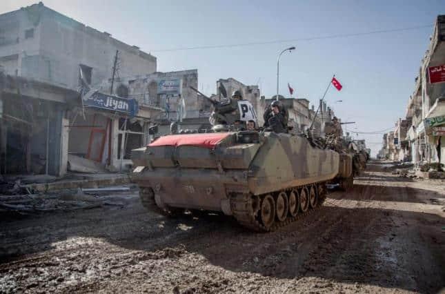 на півночі Сирії